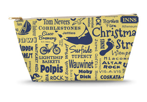 Nantucket Location (Butter) Large Accessory Bag