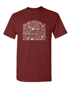 "WLTY ""Boston"" Adult Short Sleeve T-Shirt"