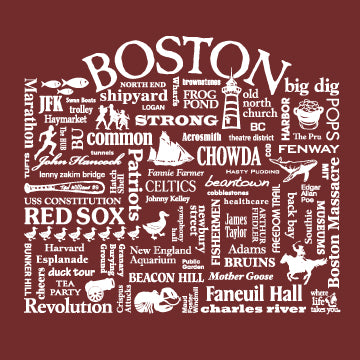 "WLTY ""Boston"" Adult Long Sleeve T-Shirt"