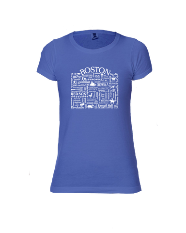 "WLTY ""Boston"" Ladies Short Sleeve T-Shirt"