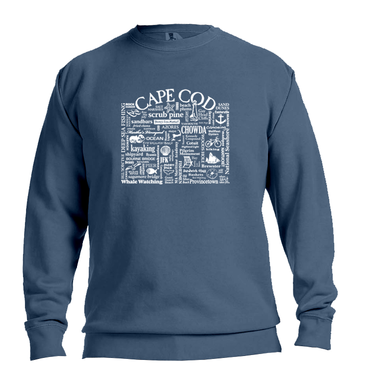 "WLTY ""Cape Cod"" Adult Crewneck Sweatshirt"