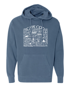 "WLTY ""Cape Cod"" Adult Hooded Sweatshirt"