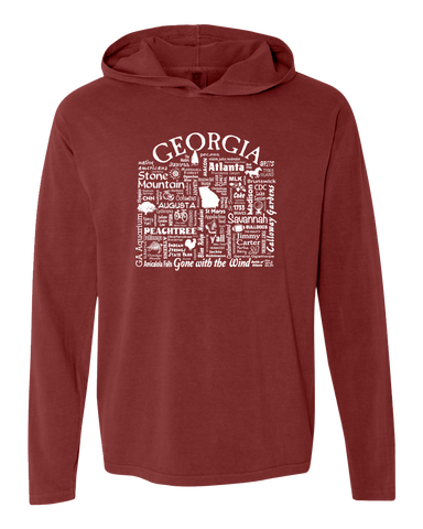 "WLTY ""Georgia"" Adult Hooded Long Sleeve"