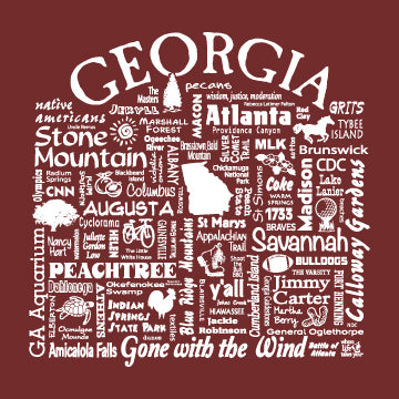 "WLTY ""Georgia"" Adult Long Sleeve T-Shirt"