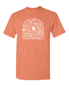 "WLTY ""Georgia"" Adult Short Sleeve T-Shirt"