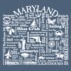 "WLTY ""Maryland"" Ladies Short Sleeve T-Shirt"