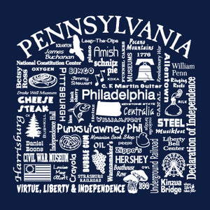 "WLTY ""Pennsylvania"" Adult Long Sleeve T-Shirt"