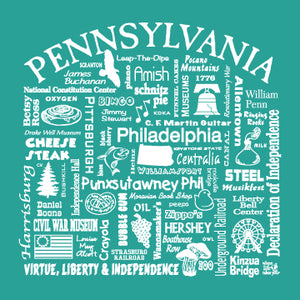 "WLTY ""Pennsylvania"" Ladies V-Neck T-Shirt"