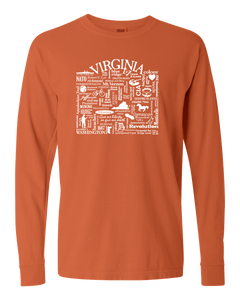 "WLTY ""Virginia"" Adult Long Sleeve T-Shirt"