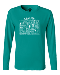 "WLTY ""Maine"" Ladies Long Sleeve"