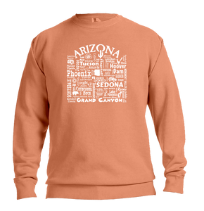 "WLTY ""Arizona"" Adult Crewneck Sweatshirt"