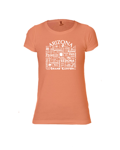 "WLTY ""Arizona"" Ladies Short Sleeve T-Shirt"
