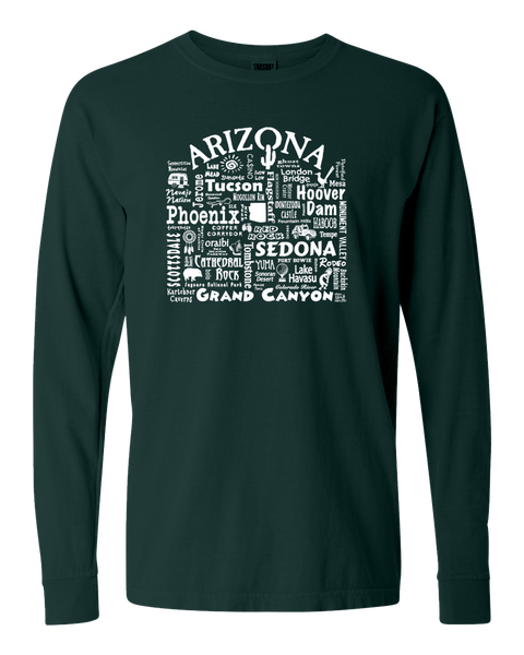 "WLTY ""Arizona"" Adult Long Sleeve T-Shirt"