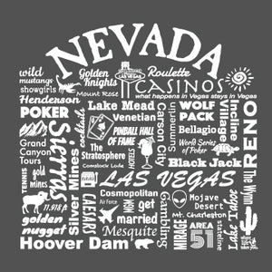 "WLTY ""Nevada"" Adult Long Sleeve T-Shirt"