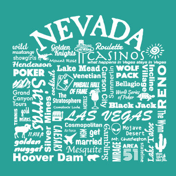 "WLTY ""Nevada"" Ladies V-Neck T-Shirt"