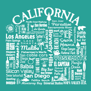 "WLTY ""California"" Adult Hooded Long Sleeve"