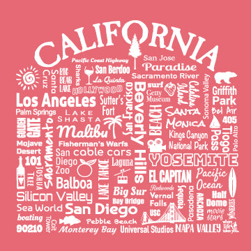 "WLTY ""California"" Ladies Long Sleeve"