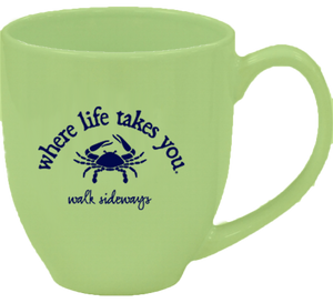 "WLTY Crab ""Walk Sideways"" Mug"