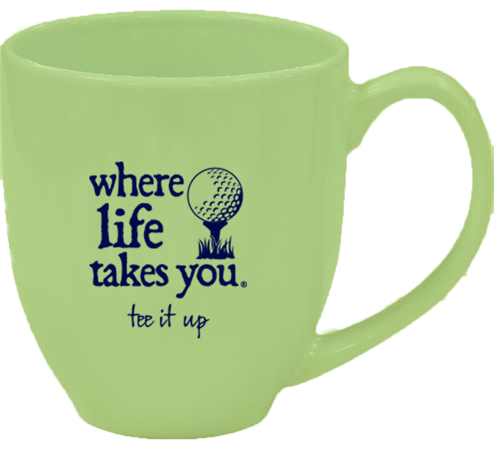 "WLTY Golf ""Tee it Up"" Mug"