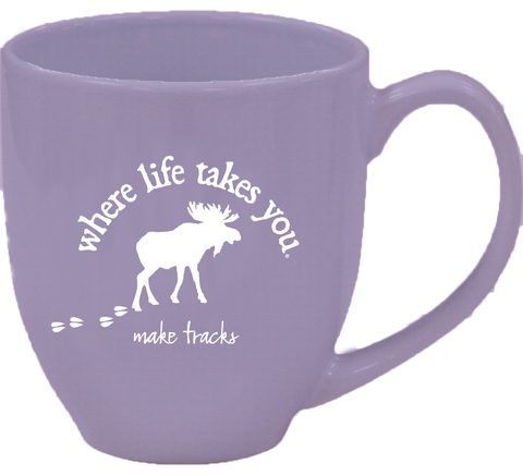 "WLTY Moose ""Make Tracks"" Mug"