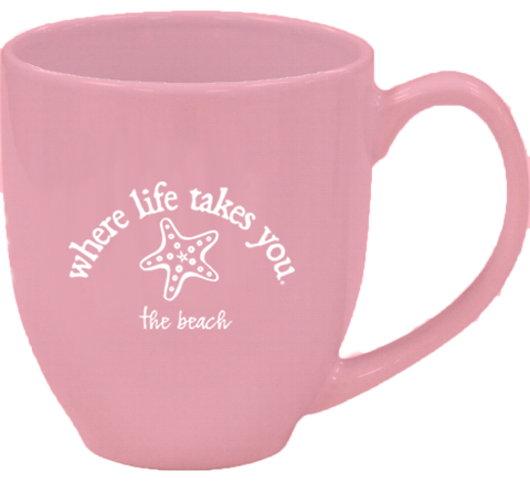 "WLTY Starfish ""The Beach"" Mug"