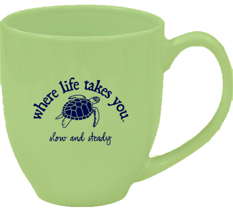 "WLTY Turtle ""Slow & Steady"" Mug"