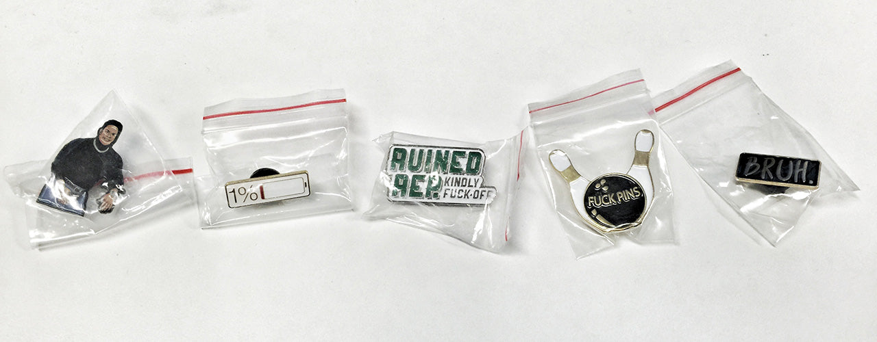 Ruined Rep Pin Collection