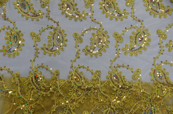 0226 GOLD - COCO PAISLEY