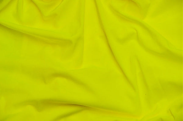 0434 NEON YELLOW - SPANDEX NYLON