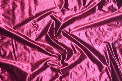 Pink Tissue Lame Fabric