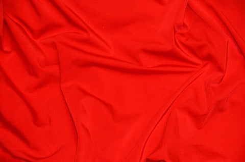 Red Spandex Nylon Fabric