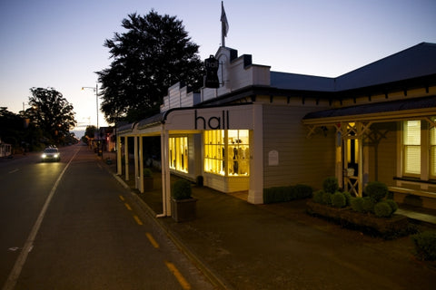 Hall greytown by night