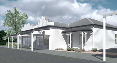 Donnell Day concept for Hall Greytown