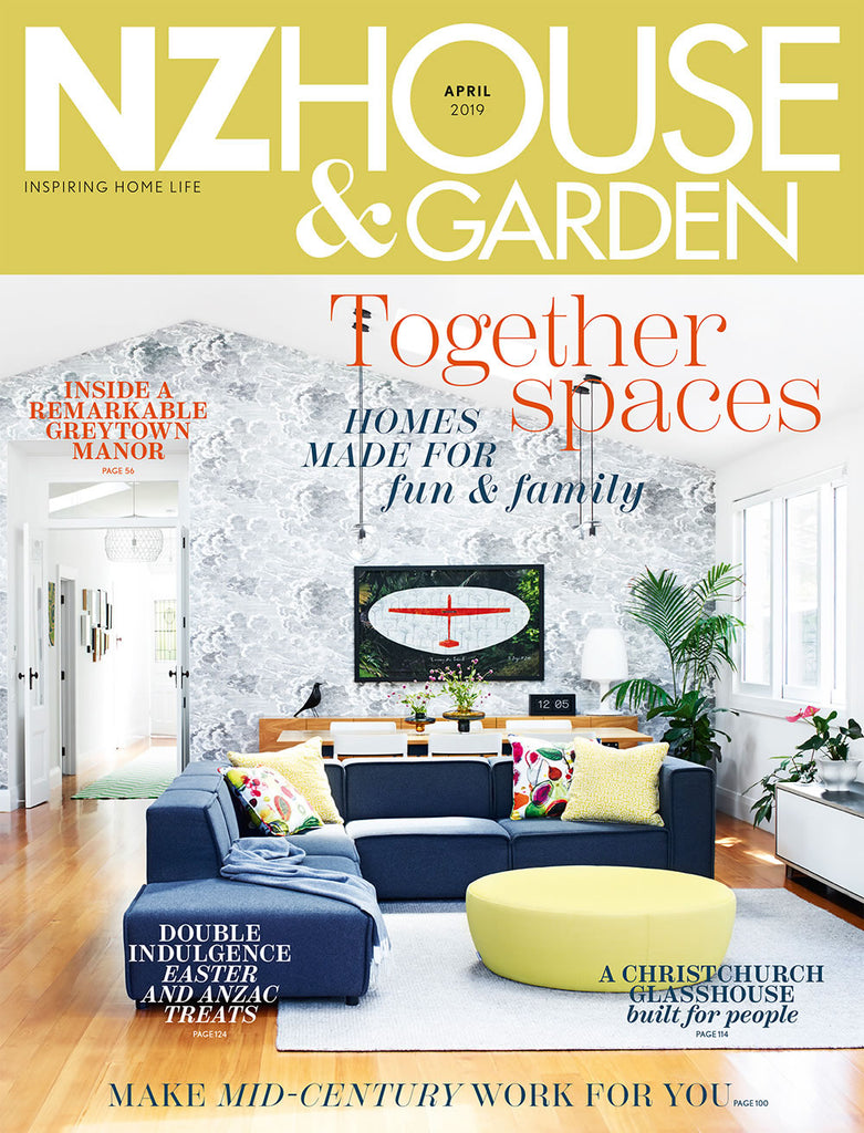 Lorraine Hall and Hall Fashion in NZ House and Garden magazine