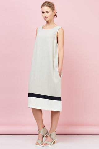 Saints brand colour block dress from Hall Greytown