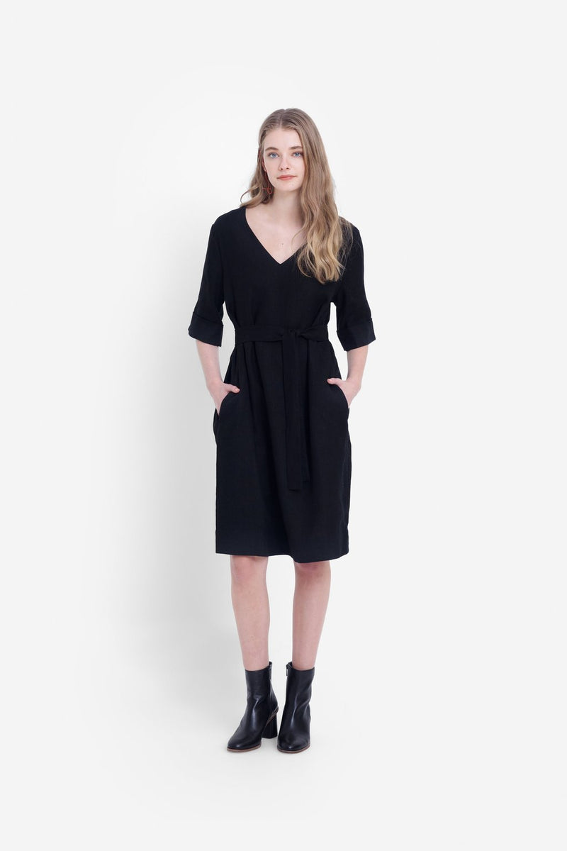 Elk Ilona Dress A3287 Black