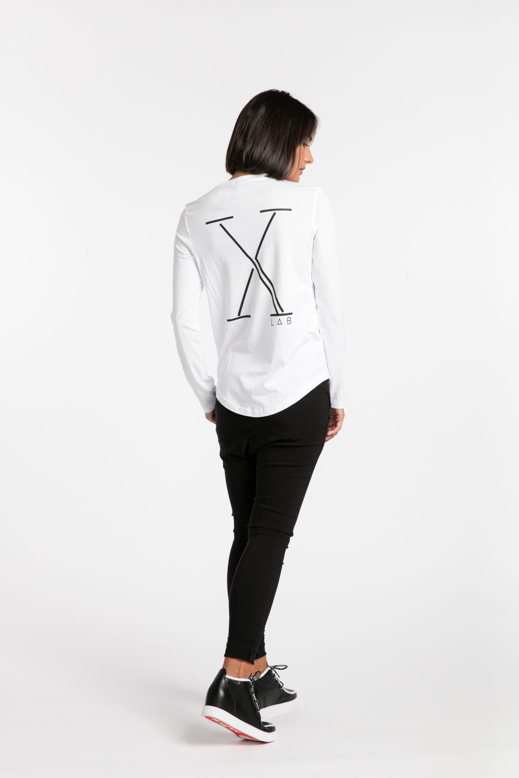 STYLEXLAB X Limited Edition Tee 224 White/Black