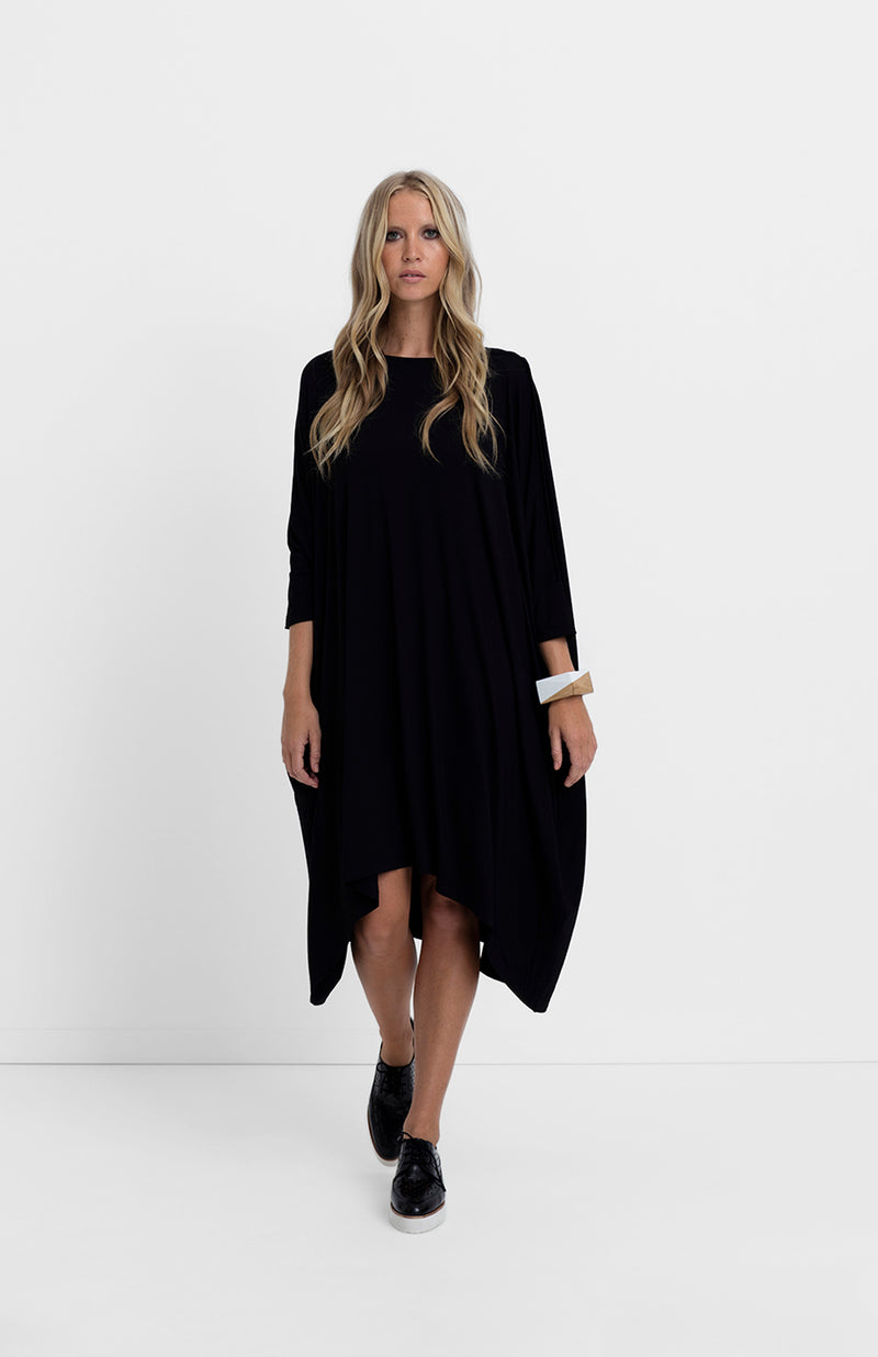 Elk  Wide Stretch Dress AP0433W13 Black