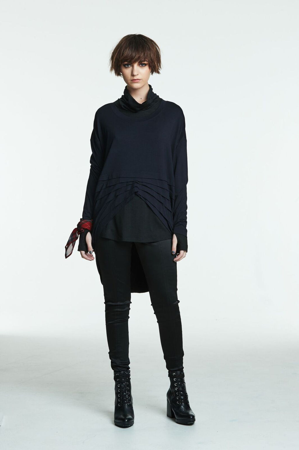 Obi  Merino Turtle Neck 93748 Black