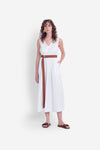 Elk Karis Maxi Dress A3388 White