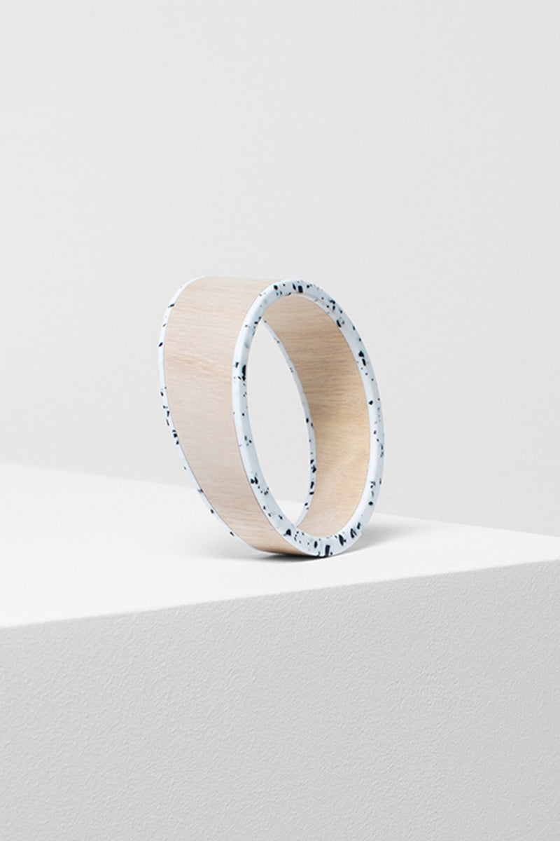 Elk Kerda Bangle E0746 White