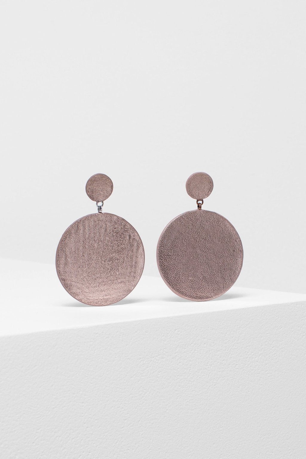 Elk Salla Earrings E0665 Rose Gold