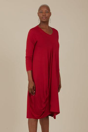 Gaard Helios Dress GA16 Crimson