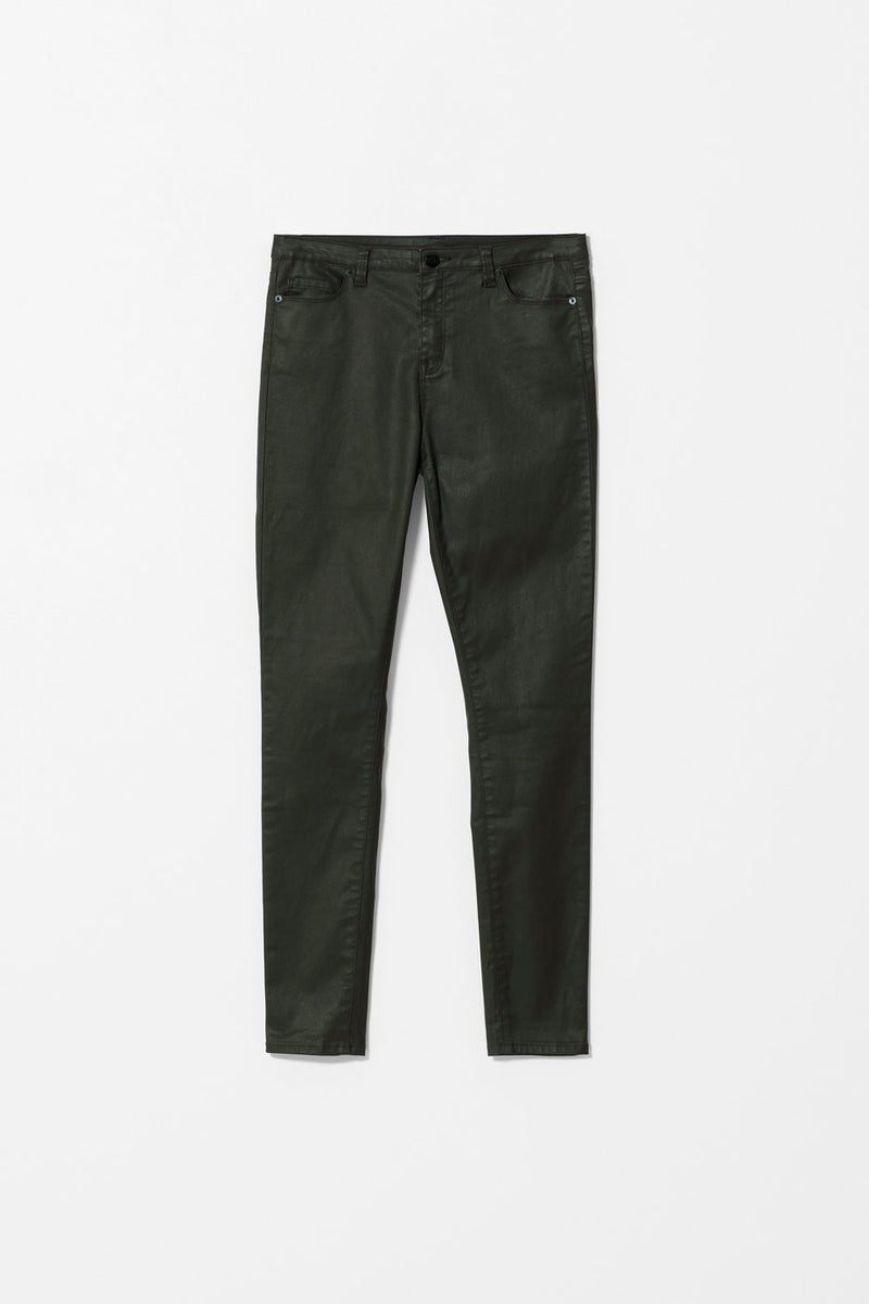 Elk Oslo Jean J0035 Olive Green Coated