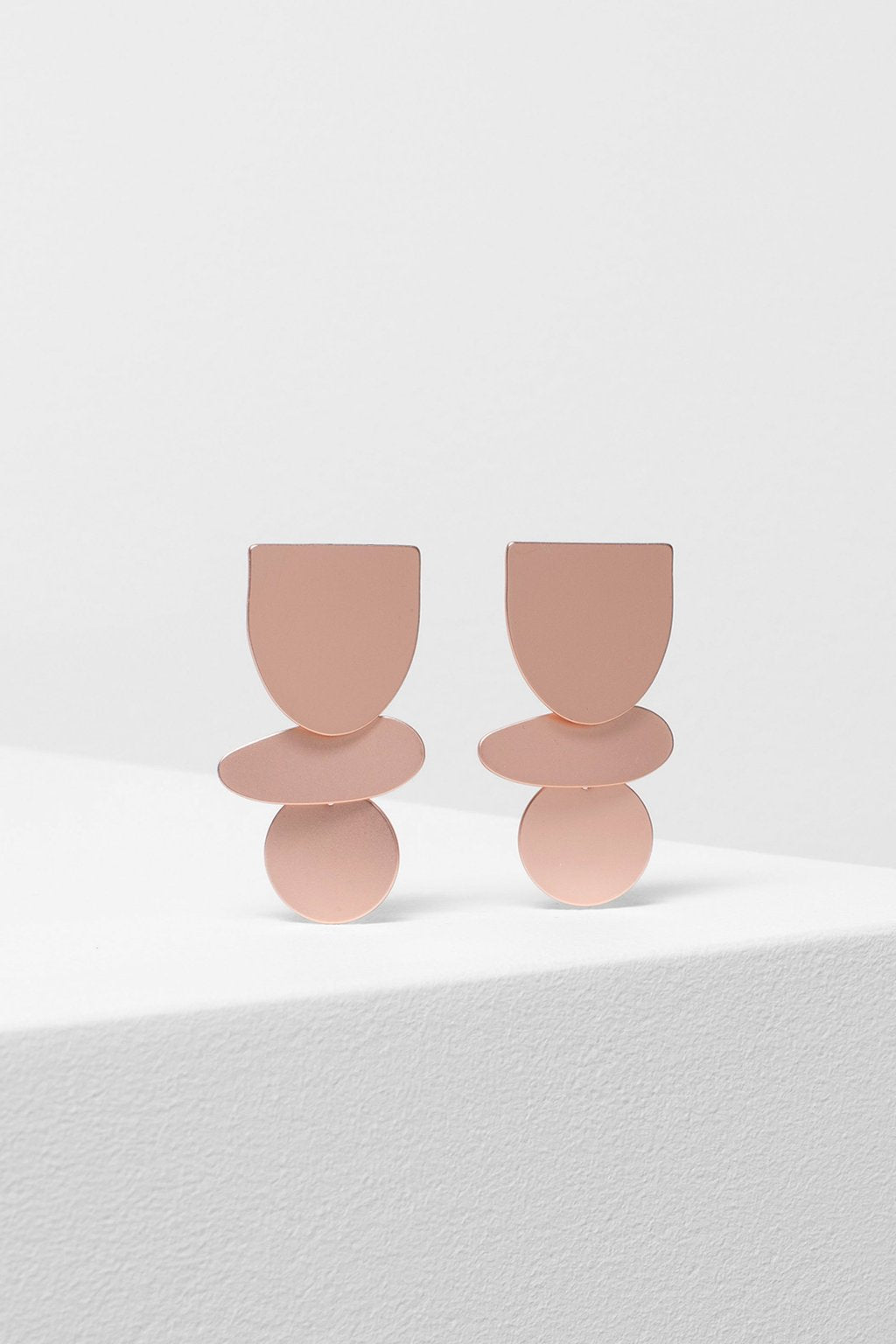 Elk Saffi Earring E0710 Rose Gold Matte