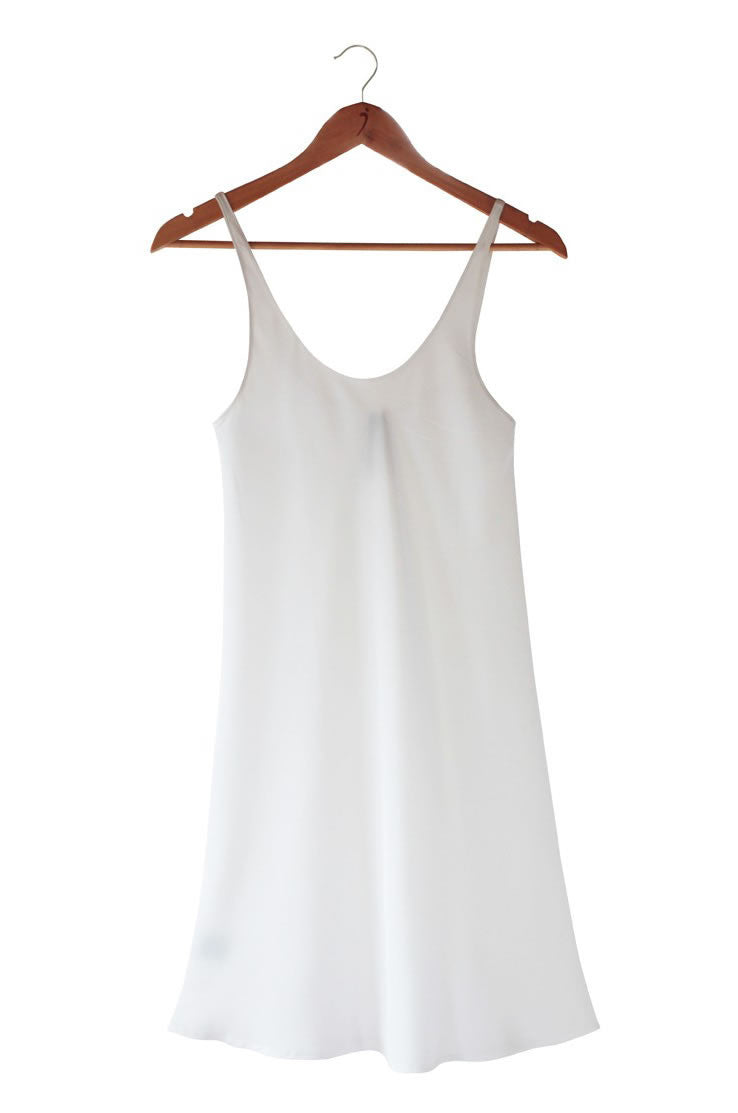 CREPE SLIP Natural White