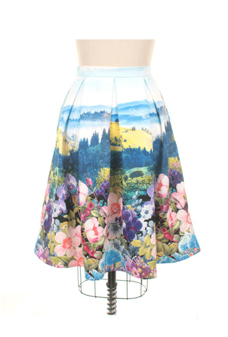 Landscape Skirt in Multi