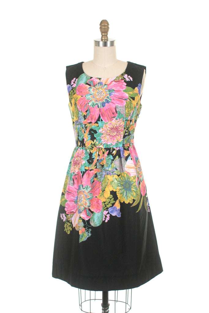Bloom Dress in Black