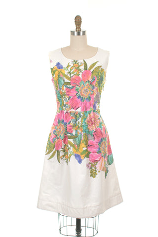 Bloom Dress in Ivory