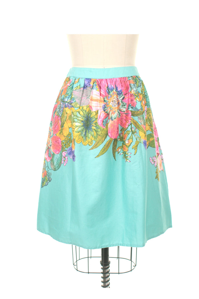Bloom Skirt in Turquoise - last size S!